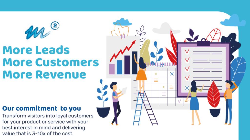 More Leads, More Customers, More Revenue